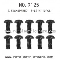 XINLEHONG Toys 9125 parts-Round Headed Screw 15-LS14