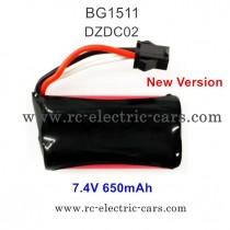 Subotech BG1511 RC truck Battery