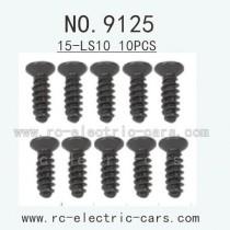 XINLEHONG Toys 9125 parts-Countersunk Head Screw 15-LS10 10PCS