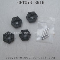 GPTOYS S916 Parts Six Angle Connector