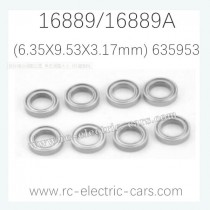 HAIBOXING HBX 16889 16889A RC Car Parts Ball Bearings 635953