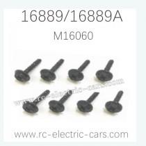 HAIBOXING HBX 16889 16889A RC Car Parts Wheel Lock Blots M16060