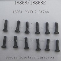 HBX 18858 Car Parts Pan Head Self Tapping Screw 18051