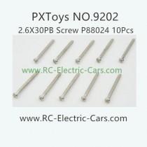 PXToys 9202 Car Parts-P88024 screws