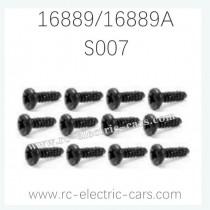 HAIBOXING HBX 16889 16889A RC Car Parts Pan Head Self Tapping Screws S007