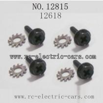 HAIBOXING HBX 12815 parts-Wheel Lock Screws 12618