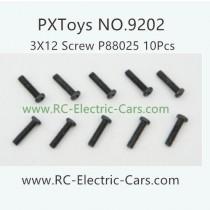 PXToys 9202 Car Parts-P88025 screws