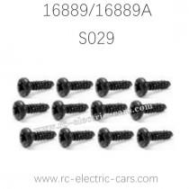HAIBOXING HBX 16889 16889A RC Car Parts Pan Head Self Tapping Screws S029