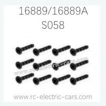 HAIBOXING HBX 16889 16889A RC Car Parts Countersunk Screws KM2.5X8mm S058