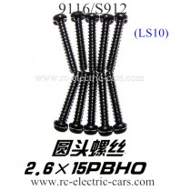 XINLEHONG 9116 S912 Truck Screws LS10
