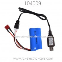 WLTOYS 104009 Speed Racer RC Car Parts Battery