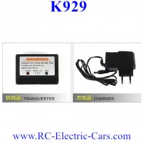 Wltoys K929 CAR Battery EU Charger