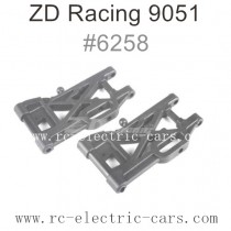 ZD Racing 9051 Parts-Rear Lower Arms 6258