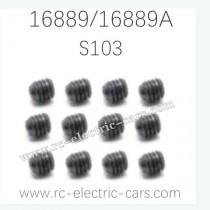 HAIBOXING HBX 16889 16889A RC Car Parts Screw S103