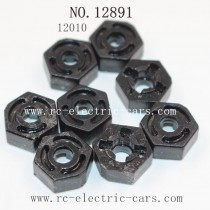 Haiboxing 12891 Car Parts-Wheel Hex 12010