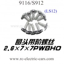 XINLEHONG 9116 S912 Truck Screws LS12
