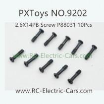 PXToys 9202 Car Parts-P88031 screws