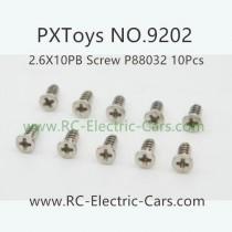 PXToys 9202 Car Parts-P88032 screws