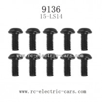 XINLEHONG TOYS 9136 Parts-Round Headed Screw 15-LS14