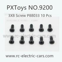 PXToys 9200 RC Car Parts-Screws P88033