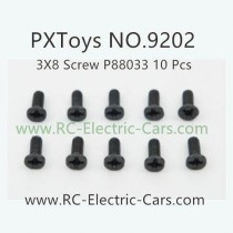 PXToys 9202 Car Parts-P88033 screws