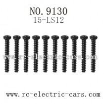 xinlehong toys 9130 car-Round Headed Screw 15-LS12