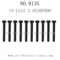 XINLEHONG TOYS 9135 Parts Screw 15-LS12