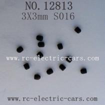 HBX 12813 CAR Survivor MT Parts-Grub Screw 3X3mm S016