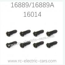 HAIBOXING HBX 16889 16889A RC Car Parts Steering Hub Step Screws 16014
