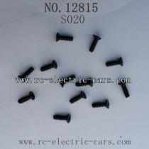 HAIBOXING HBX 12815 parts-Countersunk Self Tapping Screw S020