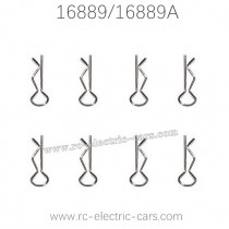 HAIBOXING HBX 16889 16889A RC Car Parts Body Clips H166