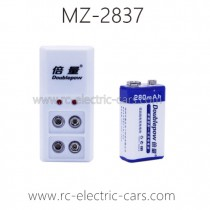 MZ 2837 RC Car Parts-Old verion Battery 9V Rechargeable Battery