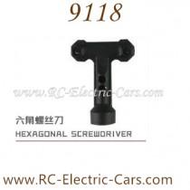 XINLEHONG Toys 9118 car Hexagon screwdriver