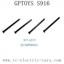 GPTOYS S916 Car Parts Screws 911-LS17