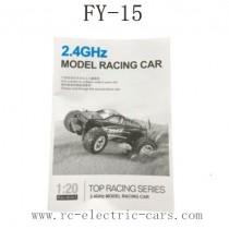 FEIYUE FY-15 Car Parts English Manual