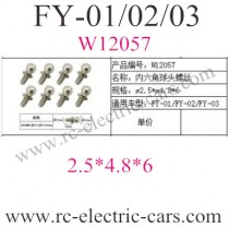 FEIYUE FY-01-02-03 Car Hexagon socket screws