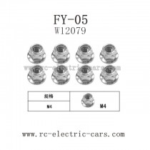 FEIYUE FY-05 parts-Nut M4 W12079