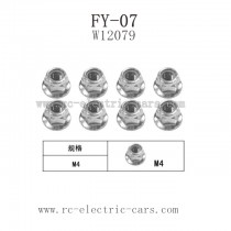 FEIYUE FY-07 Parts-Nut M4 W12079