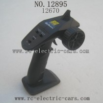 HBX 12895 Transit Parts-Remote Control