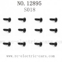 HBX 12895 Transit Parts-Round Head Self Tapping Screw S018