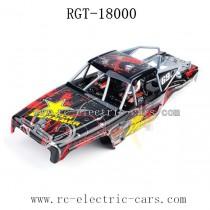 HSP RGT 18000 Rock Hammer Parts Car Shell Red