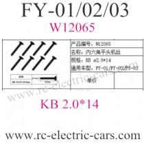 FEIYUE FY-01 FY-02 FY-03 Car Screws 065