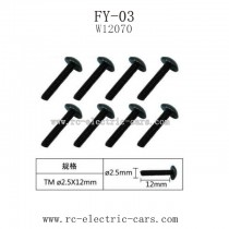 FeiYue FY03 Parts-Screw W12070