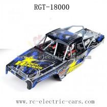 HSP RGT 18000 Rock Hammer Parts Car Shell Blue