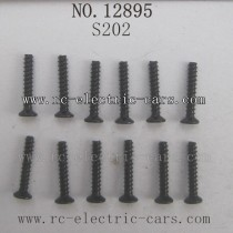 HBX 12895 Transit Parts-Countersunk Self Tapping Screw S202