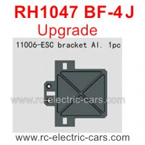VRX RH1047 BF-4J Upgrade Parts-Servo Mount Alum