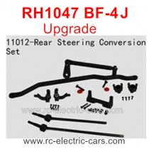VRX RH1047 BF-4J Upgrade Parts-Rear Steering Conversion set