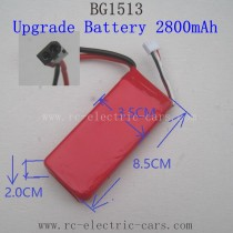 Subotech BG1513 Upgrade Spare Parts-Battery 7.4V 2800mAh