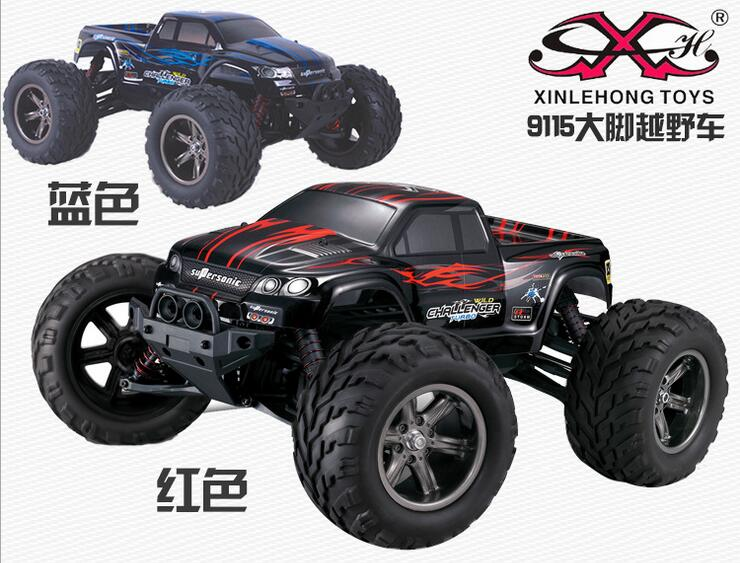 Xinlehong 9115 rc monster trucks